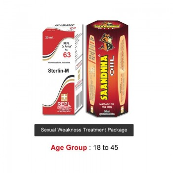 Sexual Weakness Treatment Age Group 18-45