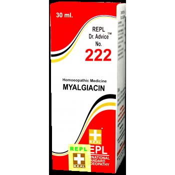 REPL Dr. Advice™ NO. 222  (MYALGIACIN)